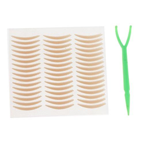 B Baosity 240er Set Schlupflider Stripes Wundertape Augenlid-Tape Streifen Eyelid Lifting Tape, Wasserdicht, 24h Halt, Größe L - Klein -