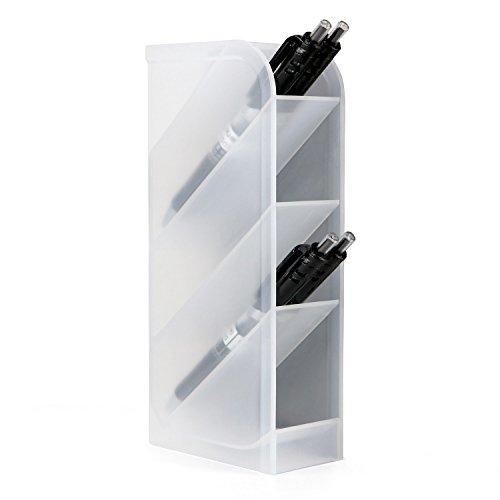 (Schreibtisch Organizer- Stift-Caddy Organizer Storage Für Büro, Schule, Zuhause, Arztausstattung, Stift Aufbewahrung Halter Weiß)