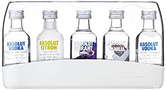 Absolut Five Vodka Miniaturen-Set (5 x 0.05 l)