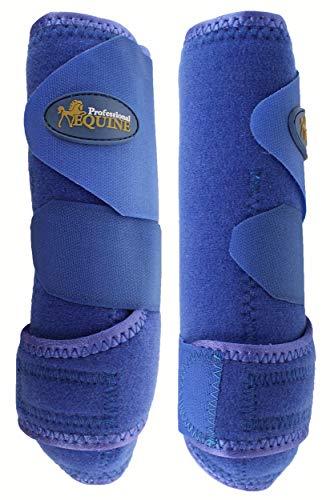 Pferd Professional Equine Sport-Medizin Splint Bell Stiefel blau Combo 41bla (Pferd Stiefel Schiene)