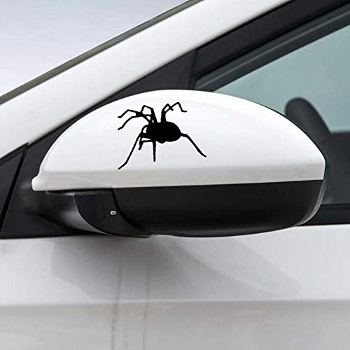 Stukk Stickers Schablone für Autofenster, Vinyl, wasserdicht, 17,8 x 14,9 cm - Schwarz