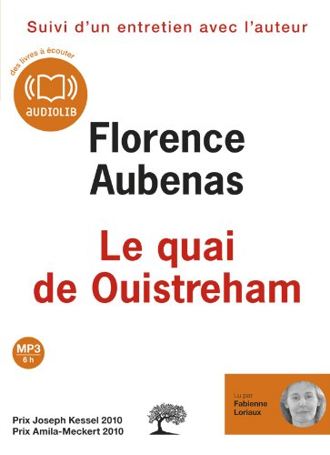 Le quai de Ouistreham (op) - Audio livre 1CD MP3 528 Mo