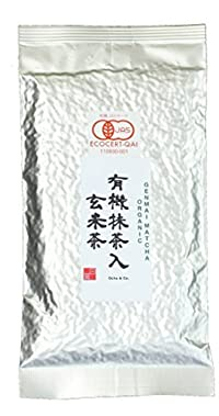 Ocha & Co. Premium Organic Japanese Genmaicha Matcha Roasted Brown Rice Blend Green Tea 100g 3.5oz.