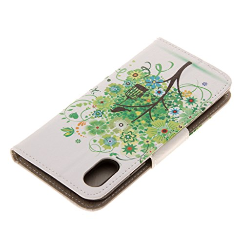 Coque pour iPhone 8, Frlife | Housse en Cuir PU pour iPhone 8 Coque avec Étui en Silicone, Protection Complète pour Votre Téléphone Portable. couleur 9