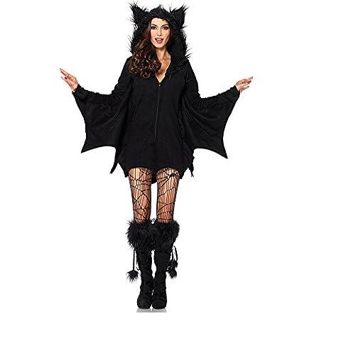 Svance Adult Halloween Party Kostüme Kleid für Frauen und Girls. (Draculas Frau Kostüm)