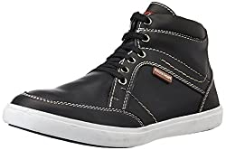 Provogue Mens Black Sneakers - 6 UK