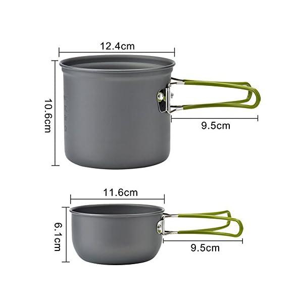 Picknick Topf Camping Kochgeschirr Campinggeschirr Outdoor Wandern Cookware Set