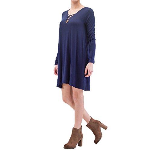 Only Femme Robes / Robe onlTyra Bleu