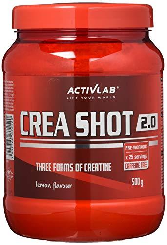 Activlab Crea Shot 2.0, Zitrone, 500 g -