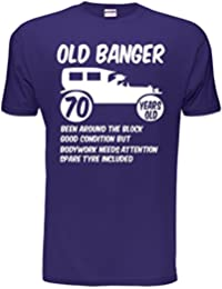 Old Banger Mens 70th Birthday Present T shirt Sizes Small to XXL