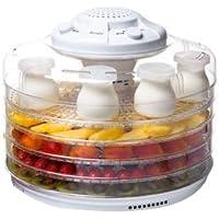 Domoclip 116DOC - Deshidratador de alimentos, 350 W, color blanco