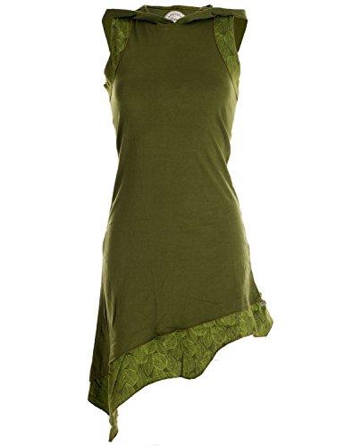 Vishes - Alternative Bekleidung - Asymmetrisches Damen Elfenkleid -