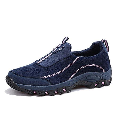 9b114291577fd4 xiduoduo Unisex Herren Damen Wanderschuhe Bequeme Freizeit Schuhe Trekking  Outdoor Sneakers Leicht Slipper