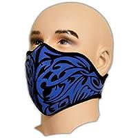 Biker Tattoo motocicleta Protector Bucal Máscara neopreno Fein filtro de polvo Snowboard Esquí Deporte Extremo Paintball