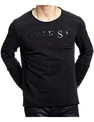 Guess Rasmus Rn L/s Fleece-M63q33k4sp0, Haut Thermique Homme