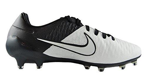 Nike Herren Magista Opus Lthr Fg Fußballschuhe Weiß / Schwarz (Light Knochen / Light Knochen-Blk-Blk)