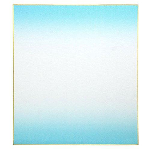 Japanische 24,1x 26,7cm Blackwall Bokashi blau Shikishi Craft Art Artwork Papier Board # s6190C