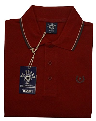 POLO UOMO MANICA LUNGA COTONE BE BOARD ART 9004