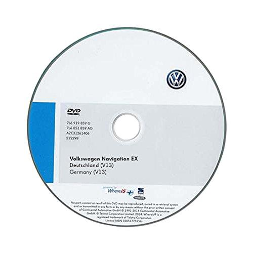 Volkswagen 1K0051884FD CD-ROM für Navigationssystem Deutschland EX (V13)