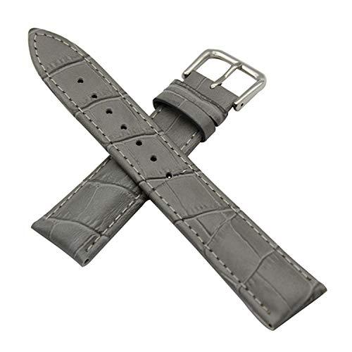 Uhrenarmbänder Armband aus echtem Leder für Jacques Lemans Uhrenarmband aus Stahl mit Schnalle und Handgelenk-Armband 12/14/16/18/19/20/21/22/23 / 24Mm