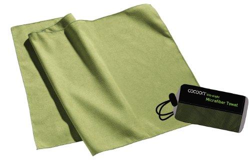 Cocoon Ultralight Towel, superleichtes Mikrofaser-/Sport-/Reisehandtuch (wasabi, L)