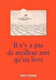 Il n'y a pas de meilleur ami qu'un livre par Jacques Abeille