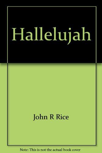 Hallelujah: Sermons from great songs