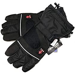 Gants chauffants à trois niveaux de température, imperméables, respirants, avec Thinsulate 3M, batterie d'exploitation, s