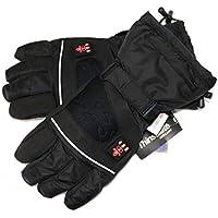 Thermrup Beheizbare Handschuhe mit 3 Stufen Temperaturregler, wasserabweichend atmungsaktive mit Thinsulate 3M, Akkubetrieb
