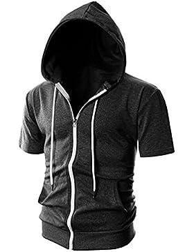 Brinny Herren Kapuzenpullover Hoodie mit Tasche - Pullover Kapuze Sweatjacke Sweatshirt Langarm