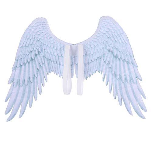 Yuyudou Engelsfee Flügel Kostüm für Halloween Party, Kostümparty Jungen/Mädchen Cosplay Party Kostüme - Jungen Punk Zombie Kostüm