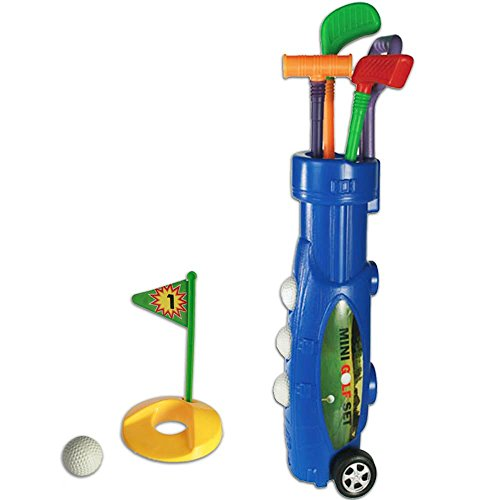 Set de Golf de Plastico Caddy (9 Piezas)
