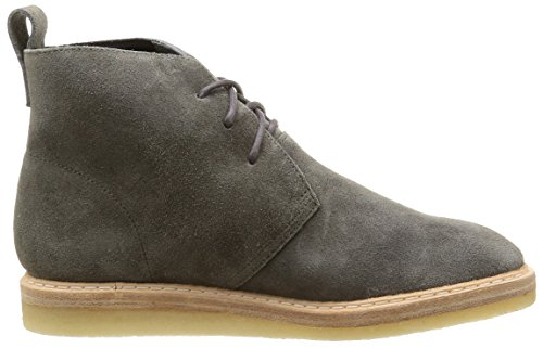 Clarks Originals - Empress Moon, Stivali Donna Grigio (Dark Grey Sde)
