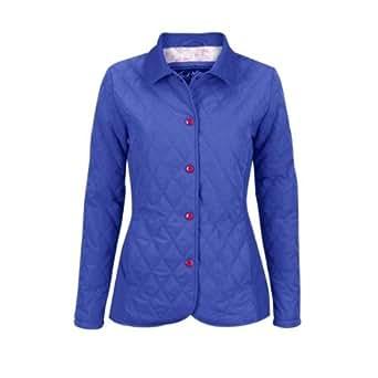 Jack Murphy Alma Women's Quilted Jacket - Size: 20, Color: Purple Blue