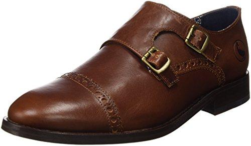 El Ganso Zapato Monk Marrón 1120W160014, Scarpe Uomo,  Marrone Size: 45