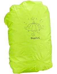 Playshoes Regenhülle, Regenschutz, Regenhaube für Schulranzen und Rucksäcke, Signalfarbe, mit Aufbewahrungstasche