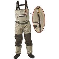 Vadeadores de pesca con mosca, transpirables, impermeables, para hombres y mujeres