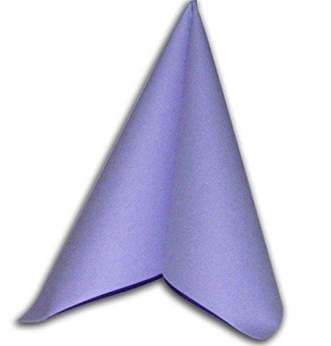 ähnlich, Airlaid 1/4-Falz 40 cm x 40 cm Flieder Lavendel Lila für Hochzeit Verlobung Taufe besondere Anlässen ... (Lavendel Servietten)