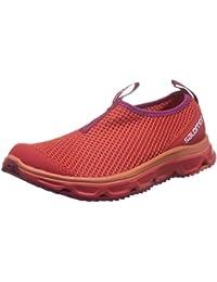 Salomon RX Moc 3.0 W, Zapatillas de Trail Running para Mujer, Rojo (Poppy Red/Poppy Red/Sangria), 36 EU