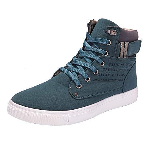 MEIbax Herren Oxfords Casual High Top Schuhe Turnschuhe Sneaker Laufschuhe Outdoor Sportschuhe ()