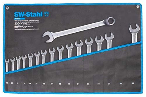 SWSTAHL 00193L Gabelringschlüsselsatz