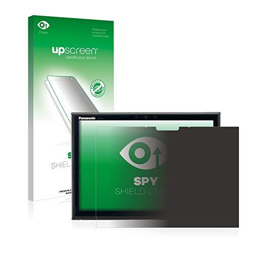 upscreen Anti-Spy Blickschutzfolie kompatibel mit Panasonic Toughbook CF-XZ6 Privacy Screen Sichtschutz Bildschirmschutz-Folie