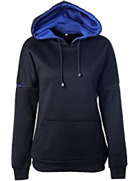 41fbbd886170 ISSHE Hoodie Sweatshirt Damen Kapuzenpullover Sport Pullover mit Kapuze  Hoodies Frauen Kapuzen Hoodies Sweatshirts Kapuzensweatshirt Pullis