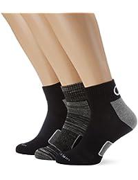 Calvin Klein Socks Herren Sportsocken Grady, 3er Pack, Gr. 40/46, Mehrfarbig (white/black-1