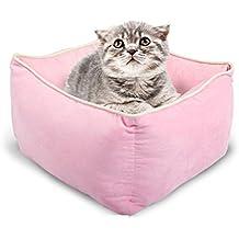 Pet bed Cama para Mascotas de Limpieza desechable Quattro stagioni caverna Común Gato Cama Animal