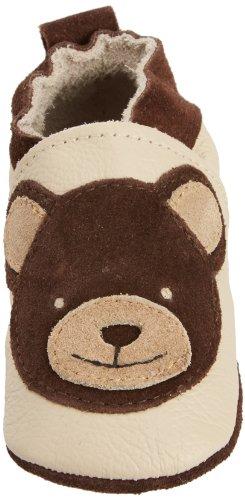 Shoo Shoo Brown Teddy, Premières chaussures de marche bébé garçon Beige (Tan)