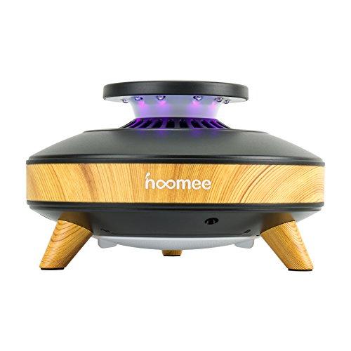 HOOMEE Trampa de Luz Inteligente para Mosquitos Ecológica, eficiente, ahorradora de energía y Libre de contaminación. Sensor de luz y 3 velocidades - Repelente de Insectos Recargable con USB