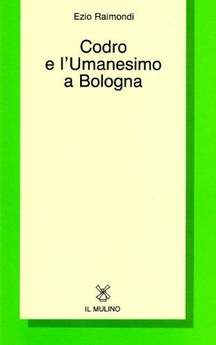 Codro e l'umanesimo a Bologna