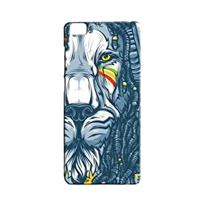BLUEDIO Designer 3D Printed Back case cover for Xiaomi Mi5 / Mi 5 - G5323