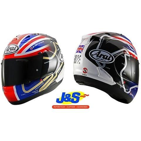 Arai Rx7GP Haslam WSBK Track giorni per moto casco racing Snell J & S